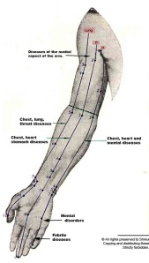 acupuncture meridians right arm inside